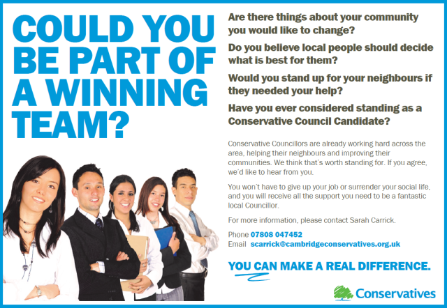 Could you be part of a winning team?