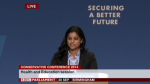 Chamali Fernando, addressing Conservative Party Conference in September 2014 on the importance of Education in Securing a Better Future for Britain