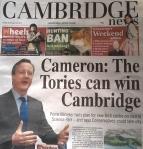 Cameron: The Tories can win Cambridge